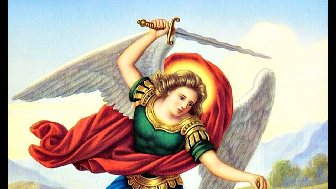 oración a san Miguel arcángel para terminar el día laboral